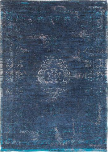 vloerkleed Louis De Poortere AV 8254 Fading World Medaillon Blue Night